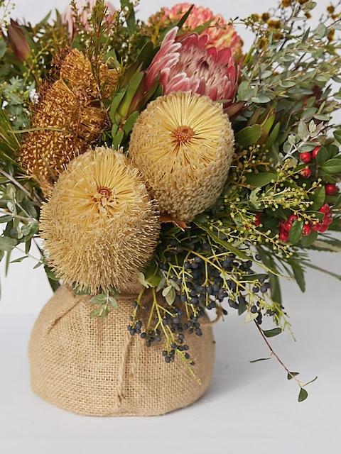 Native flower delivery in Endevour hills
