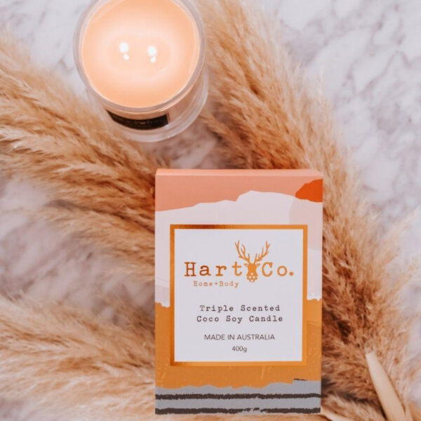 hart and co soy candle