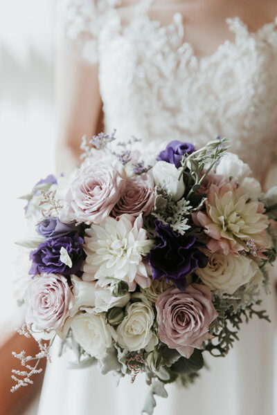 wedding day posy