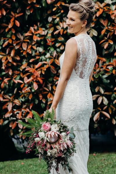 Real weddings bouquet